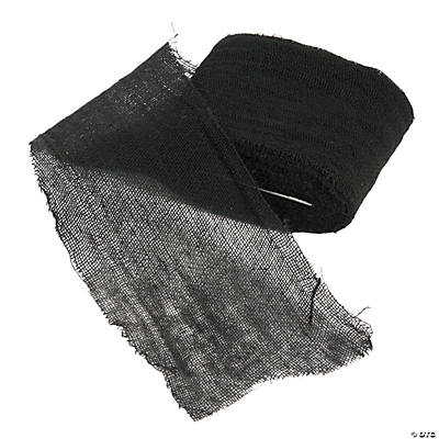 Black Craft Gauze Cheesecloth