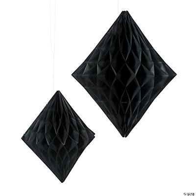 Black Diamond Hanging Decorations