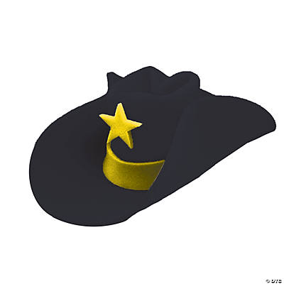 Black 40 Gallon Hat