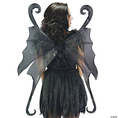 Black Large Fairy Wings - Oriental Trading