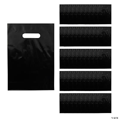 Black Party Favor Bags