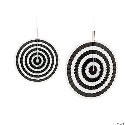 Black Stripe Hanging Fans