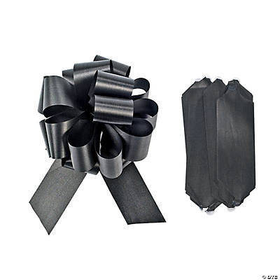 Black Wedding Pull Bows