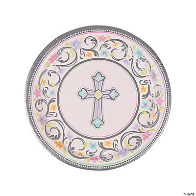 Blessed Day Paper Dinner Plates