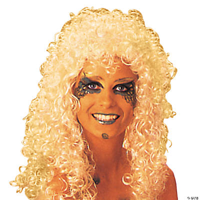 Blonde Curly Extra Long Wig