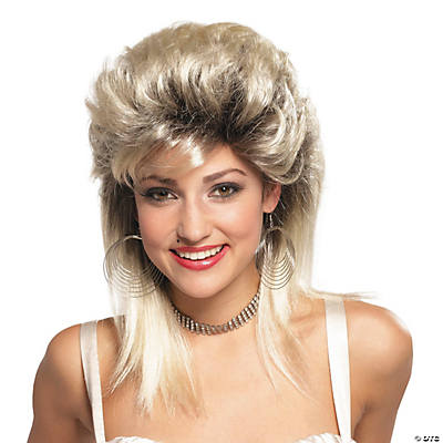 Blonde Rocker Groupie 1980's Wig