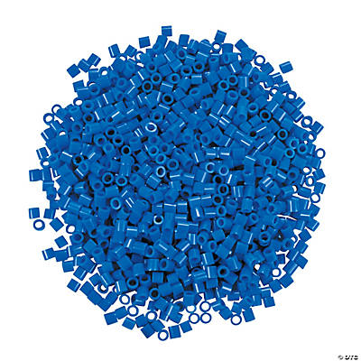 Blue Fuse Beads