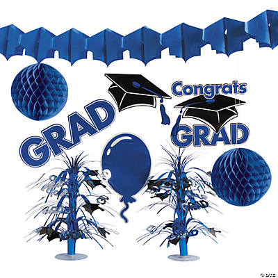 Blue Graduation Decorating Kit