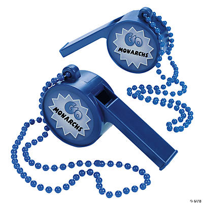 "BLUE ""LETS GO"" WHISTLE"