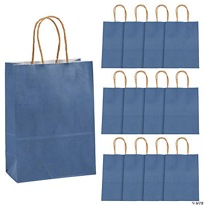 Blue Medium Craft Bags