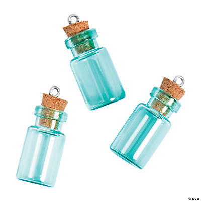 Blue Mini Bottle Charms