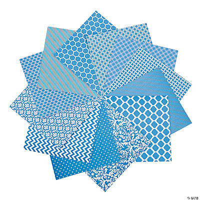 Blue Monochromatic Paper Pack