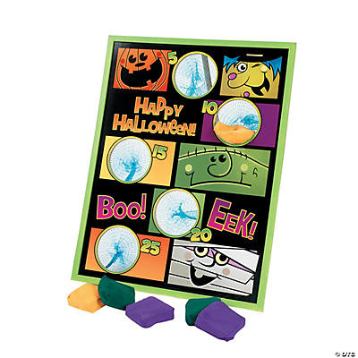 """Boo Bunch"" Halloween Bean Bag Toss Game"