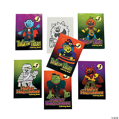 """Boo Bunch"" Halloween Coloring Booklets"