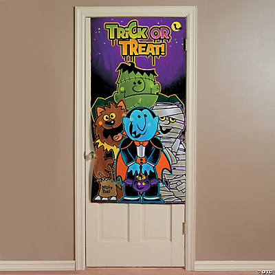 """Boo Bunch"" Halloween Door Cover"