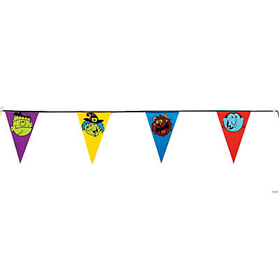 """Boo Bunch"" Pennant Banner"