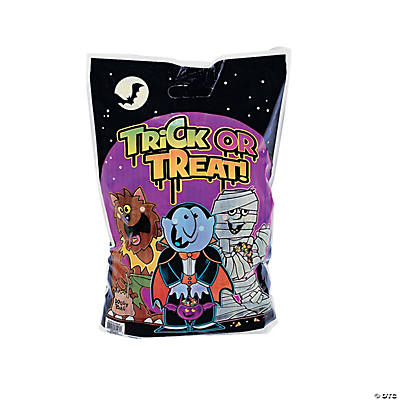 Boo Bunch Plastic Trick-or-Treat Bags - 50 pcs.