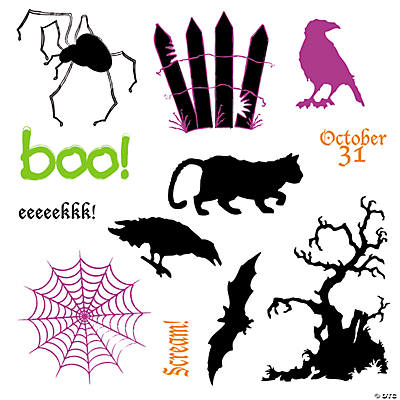 """Boo"" Stamps"