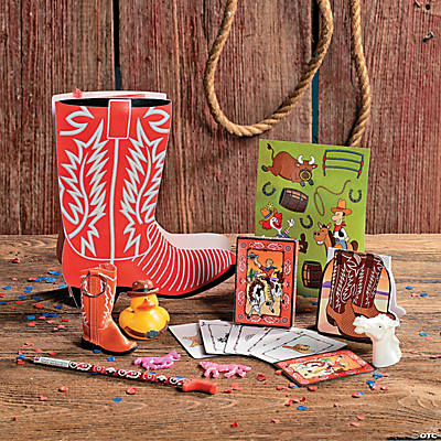 Boot Shaped Filled Treat Bag
