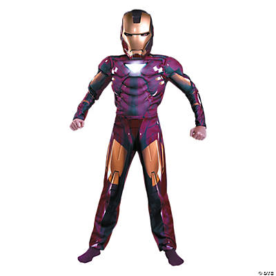 Boy's Mark 6 Iron Man 2™ Costume