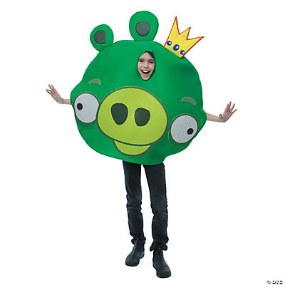 Boy's Angry Birds King Pig Costume