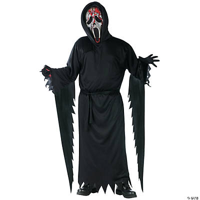 Boy's Bleeding Zombie Ghost Face Costume