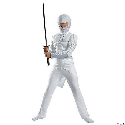 Boy's Classic Muscle Storm Shadow Costume