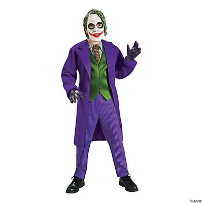 Boy's Deluxe Batman: The Dark Knight Trilogy™ Joker Costume