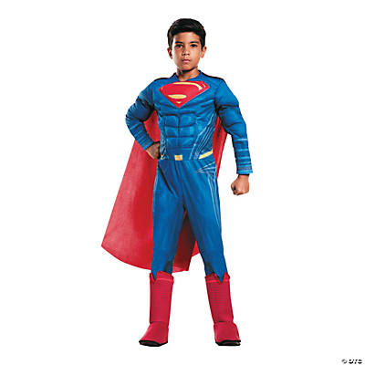 Boy's Deluxe Muscle Chest Batman v. Superman: Dawn of Justice™ Superman Costume
