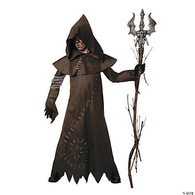 Boy's Evil Warlock Costume - Medium