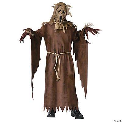 Boy's Ghost Face Scarecrow Costume