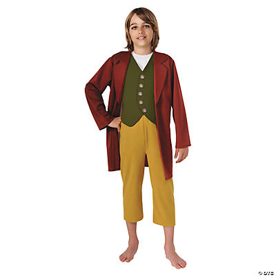 Boy's Hobbit Bilbo Baggins Costume - Small