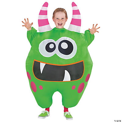 Boy's Inflatable Green Scareblown Costume