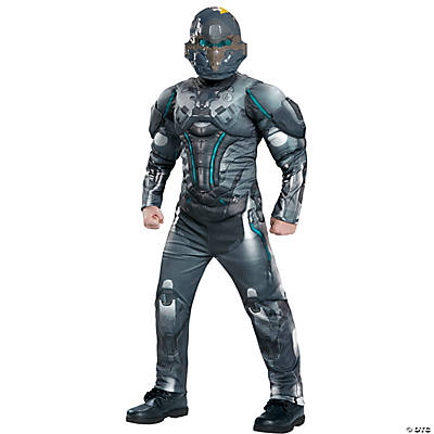 Boy's Muscle Halo Spartan Locke Costume
