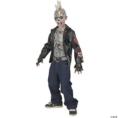 Boy's Punk Zombie Costume