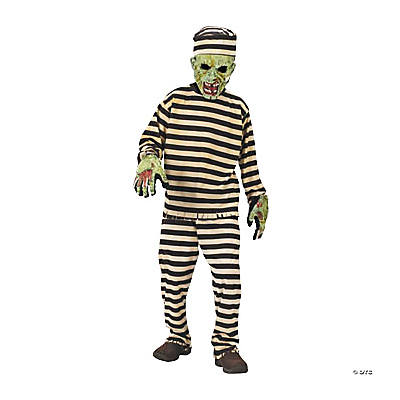 Boy's Zombie Convict Costume