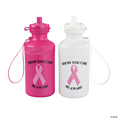 Breast Cancer Awareness Sport Water Bottles