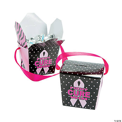 Breast Cancer Awareness Take Out Boxes