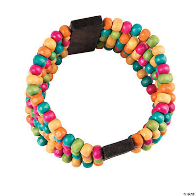 Bright Beaded Bracelet Craft Kit
