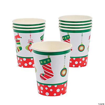 Bright Christmas Cups