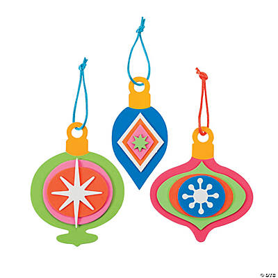 Bright Christmas Ornament Craft Kit