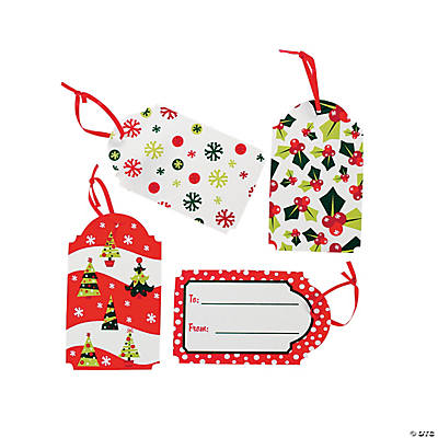 "Bright Christmas ""To/From"" Gift Tags"