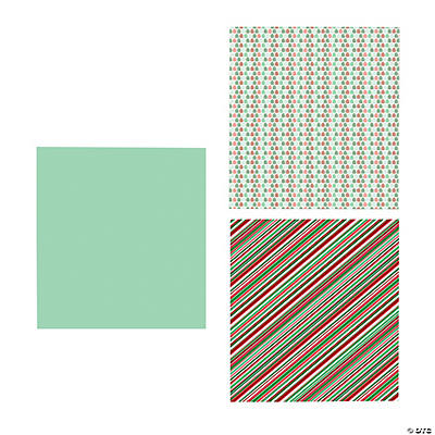 Bright Christmas Wrapping Paper