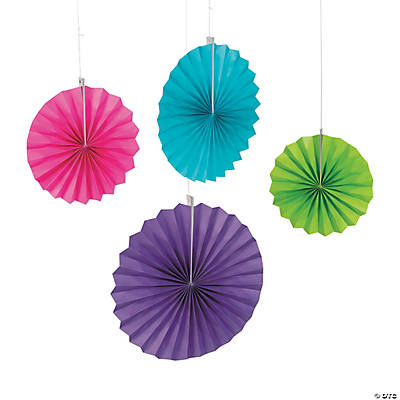 Bright Colors Hanging Fans