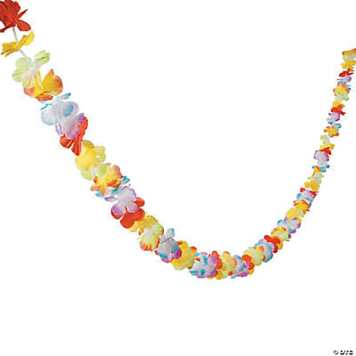 Bright Flower Lei Garland