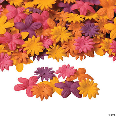 Bright Flower Petal Assortment