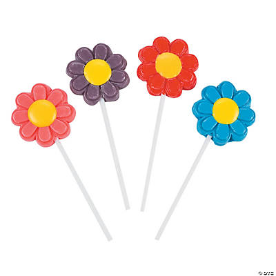 Bright Flowers Frosted Pops