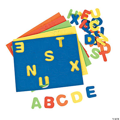 Bright Self-Adhesive Letters