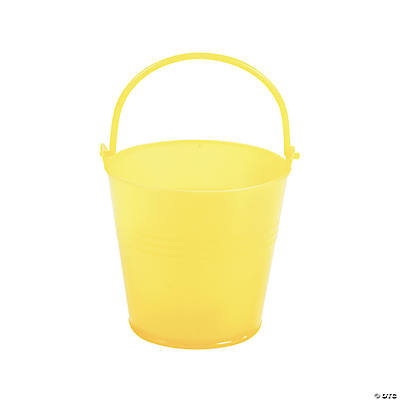 Bright Yellow Pails