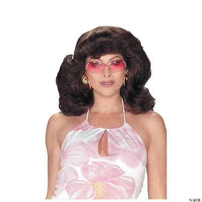 Brown 70's Angel Wig